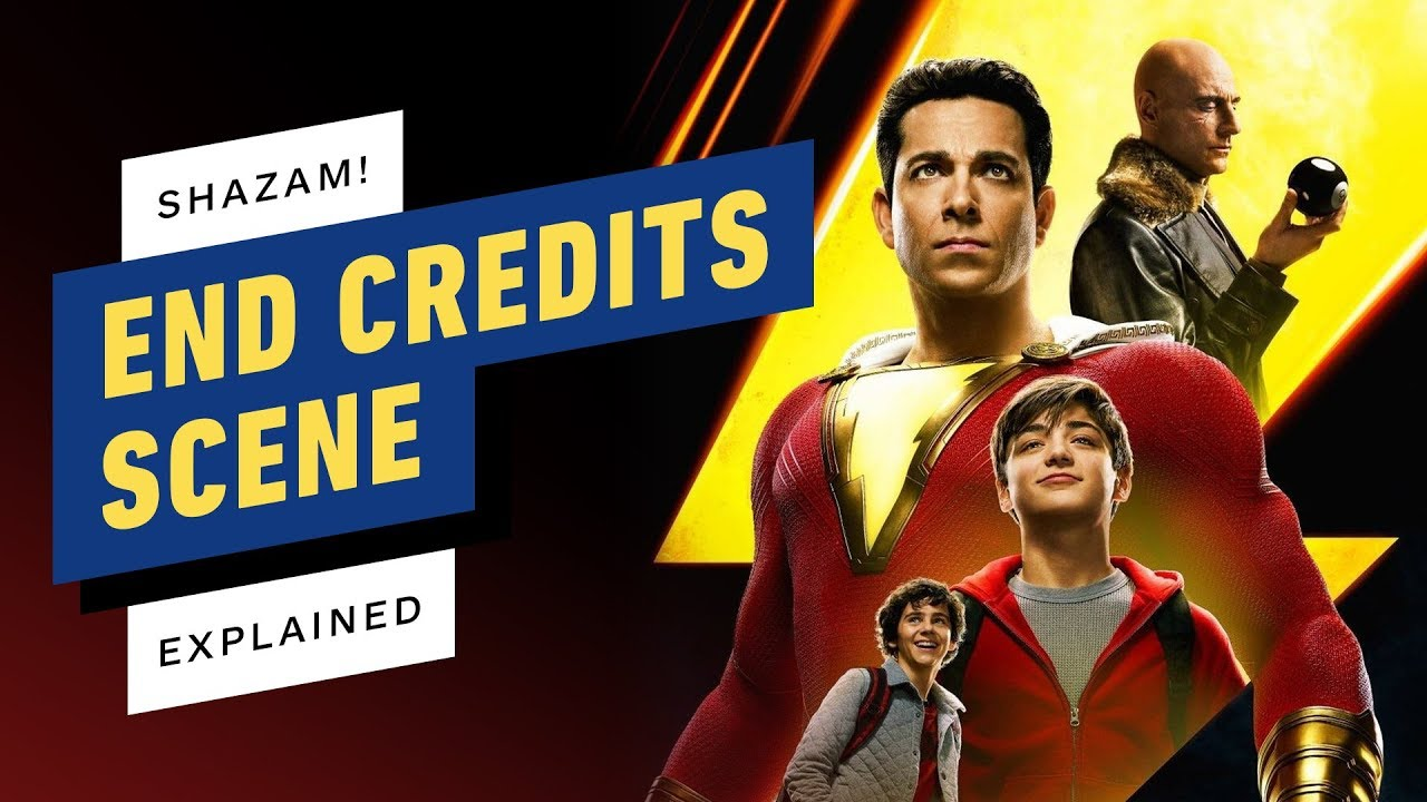 'Shazam' with 2 end-credits scenes. Explained!